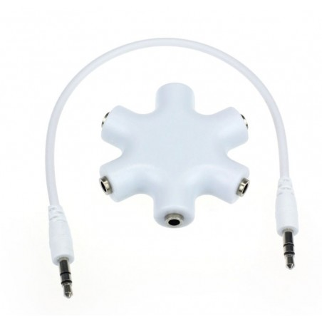 3.5mm jack audio splitter - 1 to 5