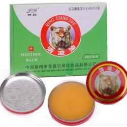 Red Tiger - Baume au menthol - Pommade anti-douleur - 24 pièces