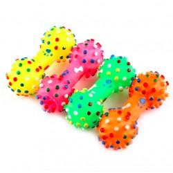 Quietschender Klang - Gummi Hundeknochen - Haustier Spielzeug