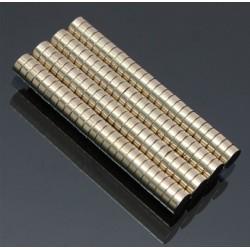 N52 Neodym Magnet Zylinder 5x2mm 100 Stück