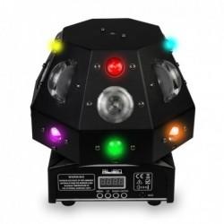 4 IN 1 - Bühnenlaser - Lichtprojektor - Moving Head - DMX - RGB - LED