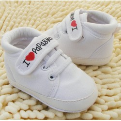 Baby - toddler canvas sneakers 2-18m