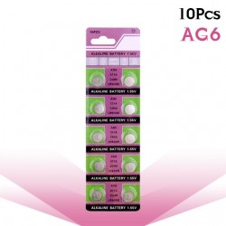 AG6 371 D371 605 SR920SW SR69 alkaline button battery 10 pieces