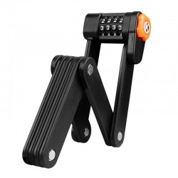 Steel folding bicycle - lock - anti theft - with password