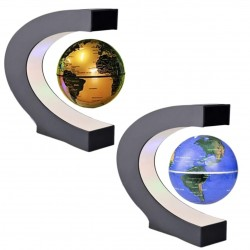 loating Levitation Globe Magnetic Color & Gold