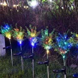 Rasen- / Gartenlicht - Lampe - solarbetrieben - LED - wasserdicht - Weihnachtsbaum