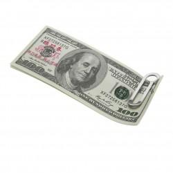 Multifunktionale Geldscheinklammer - Edelstahl