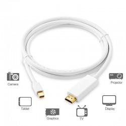 Mini DisplayPort - Convertidor HDMI Thunderbolt a HDMI - cable 3m