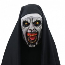 Scary nun - full face mask - for Halloween / masquerade / party