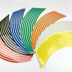 Autorad-Reflexstreifen - Aufkleber - 16 Stück