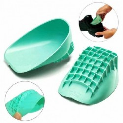 Silicone heel cup support - foot pain relief