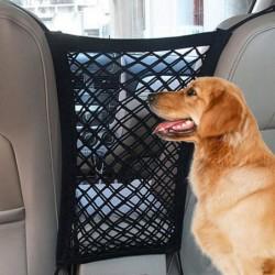 Car seat protection net - backseat barrier - dog isolation