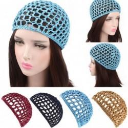 Mesh crochet cap - trendy hair net
