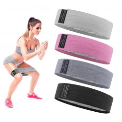 Widerstandsbänder - gummielastisch - rutschfest - für Fitness / Übung / Yoga