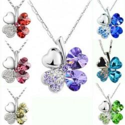 Four-leaf clover pendant -...