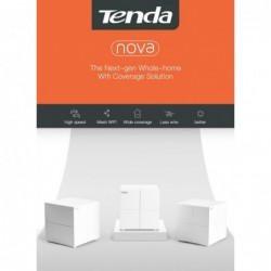 Tenda MW6 Nova - wireless WiFi system - router / repeater - 2.4G / 5G - with app control