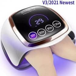 Secador de uñas profesional - con función de memoria - Lámpara UV / LED - LCD