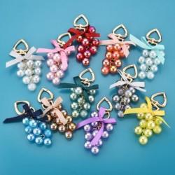 Kristalltrauben - Schlüsselanhänger mit Schleife