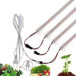 Luz de crecimiento de plantas LED - lámpara fito - espectro completo - 220V / 110V