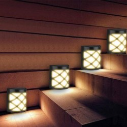 Solar wall light - 6 LED - with motion sensor - waterproof