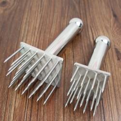 Stainless steel needle hammer - pestle - for pork belly skin