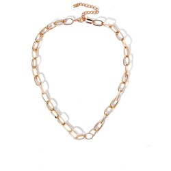 Retro hip-hop necklace - thick chain