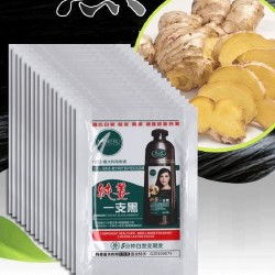 Natural ginger shampoo - quick hair dye - white / grey hair coverage - 2 pieces