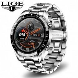 LIGE 2021 smartwatch - bluetooth - sport watch for men - heart rate monitoring - music control - waterproof