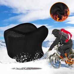 Máscara facial de motocicleta - pasamontañas cálido con protección para los oídos