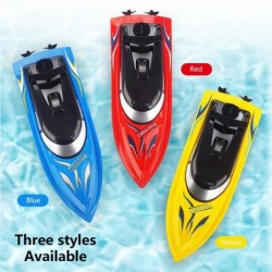 New Boys Xmas Gifts 2.4G High-speed RC Remote Control Boat Overturning Reset Racing Boat Water Summer Beach Game Ship Adult Toys