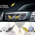 3D Wings Metal Car Motorcycle Sticker