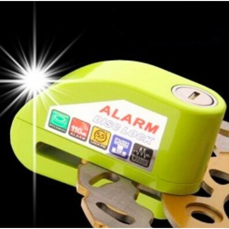 Motorcycle Motorbike Safety Anti Theft Disc Lock / Alarm