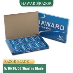HAWARD - Rasierklingen - Doppelschneide - 5 / 10 / 30 / 50 Stück