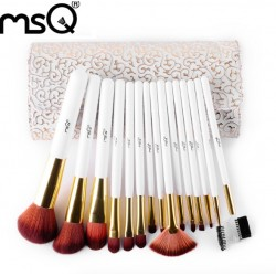 Professional MSQ Makeup Brushes Set 15pc