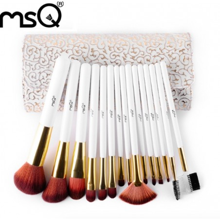 Professionele MSQ Make-Up Kwasten Set 15st