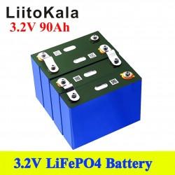 LiitoKala - 3.2V 90Ah LiFePO4 battery - for boats / cars / solar panels