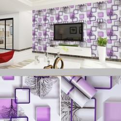 Self-adhesive wallpaper - for bathroom / living room / furniture / windows - waterproof