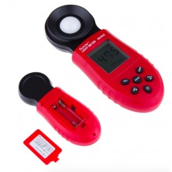 Portable Digital Lumen Photometer Tester Light Meter With 200,000 Lux LCD Display