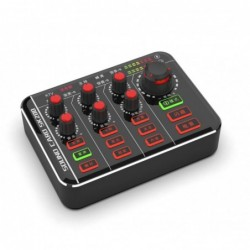 Microphone mixer - podcaster - digital - 12 sound audio effect