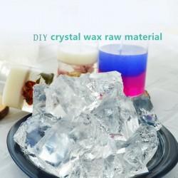Transparent gel wax for candle making  - crystal design - handmade - scented - DIY - gift - 1000gram