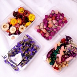Dry flowers - decoration for candles making / resin craft