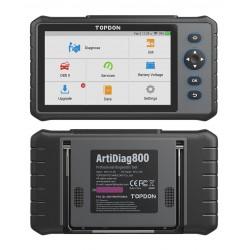 TOPDON ArtiDiag800 - OBD2-Scanner - Auto-Diagnose-Tool - Codeleser für das gesamte System