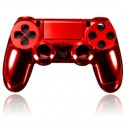 Playstation 4 Controller PS4 Behuizing Gouden - Chrome - Rood*