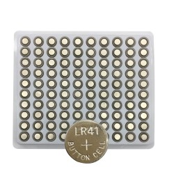 LR41 AG3 / 192 / SR41 / 392 cell battery - 100 pieces