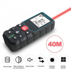 Mileseey - Laser-Entfernungsmesser - Messgerät - elektronisches Digitalband