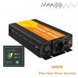 Reiner Sinuswandler - DC 12V zu AC 220V 230V - Autostromversorgung - Wechselrichter - 1000W
