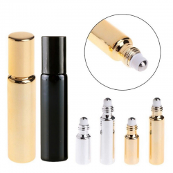 Roll-on bottle for essential oil & perfume - container 5 ml - 10 ml