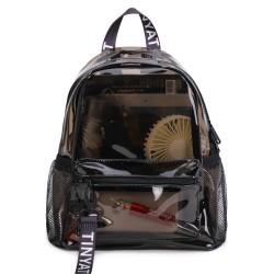 Fashionable transparent backpack - school bag