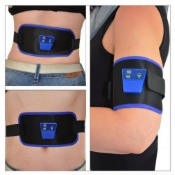 AB Massage Slim Fit Front Muscle Arm Leg Waist Abdominal Toning Body Massage Belt