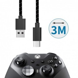Charging Cable  - 3M - usb -  xbox - fast controller